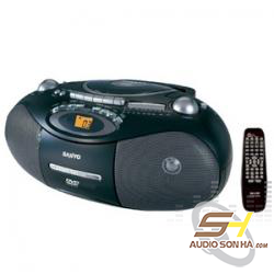 Máy phát CD Radio Cassette Sanyo MCD-DV695M
