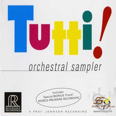 CD Tutti orchestral sampler