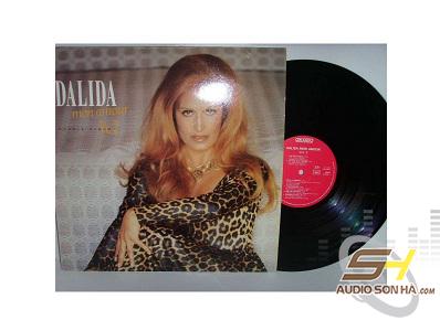 Đĩa LP Dalida Mon Amour / Bộ 2LP