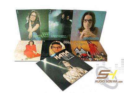 Đĩa LP Nana Mouskouri - The Best Of / Bộ 7LP