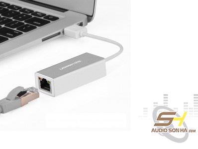 Cáp Ugreen USB 2.0 Sang LAN RJ45