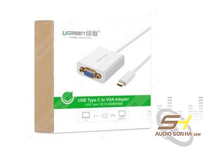 Cáp Chuyển Ugreen  USB Type C Sang VGA
