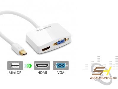 Cáp Chuyển Ugreen Mini Display Port Sang HDMI và VGA