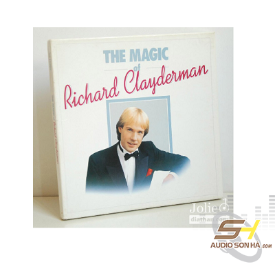 Đĩa LP Richard Clayderman, The Magic of /6LP
