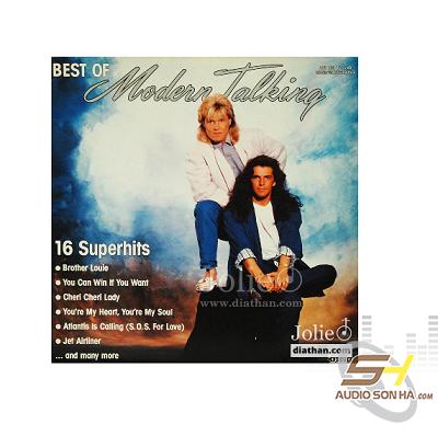 Đĩa LP Modern talking Best of 16 superhits