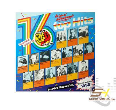 A lp 16 top hits februar 1988 club top 13 for 1988 club music