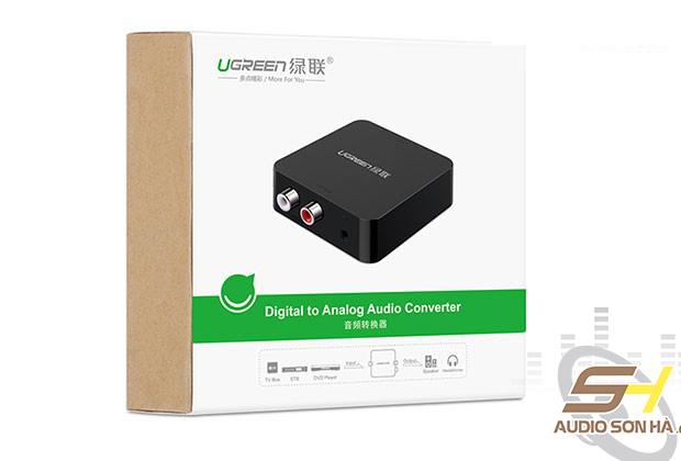 Bộ Converter Ugreen Optical hoặc Coaxial sang RCA