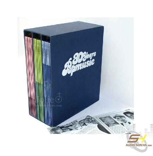 Đĩa than 30 Years Popmusic 1950-1979 / 30LP - 460 ca khúc