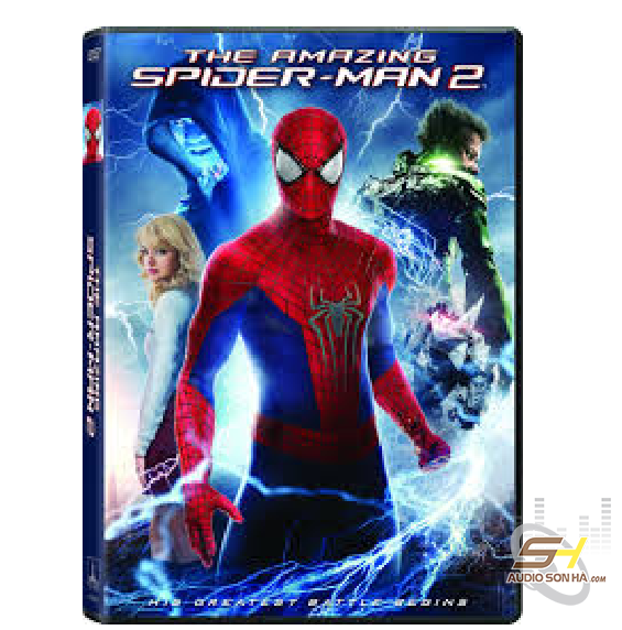 Đĩa Bluray 4K The Amazing Spider Man 2