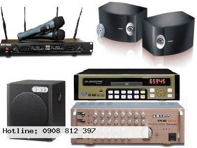 Hệ thống Karaoke dành cho phòng dưới 30m2