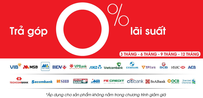 Trả góp 0% lãi suất tại Audio Sơn Hà