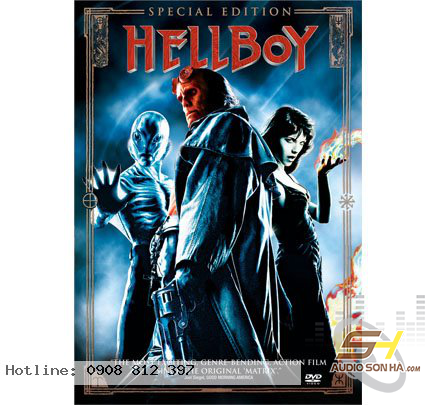 Điã Blu Ray - HELLBOY