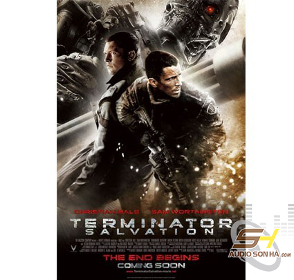 Điã Blu Ray - TERMINATOR SALVATION