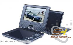 DVD Cầm tay Portable TV 7inch
