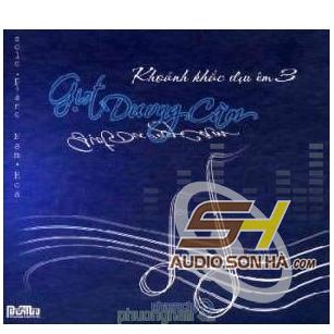 CD Giọt Dương Cầm, Khoảnh Khắc Dịu Êm 3