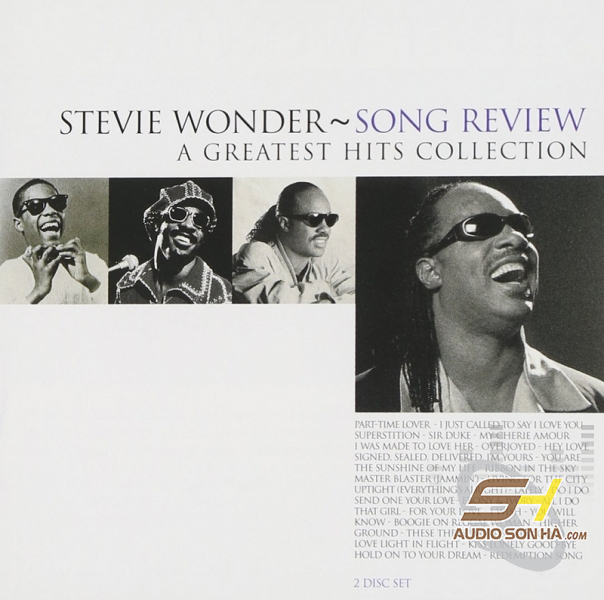 CD Stevie Wonder, Song Review, A Greatest Hits Collection