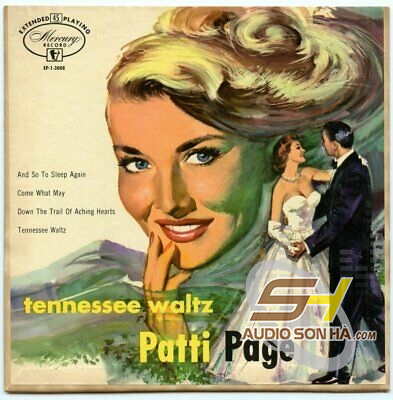 CD Patti Page , The Tennessee Waltz