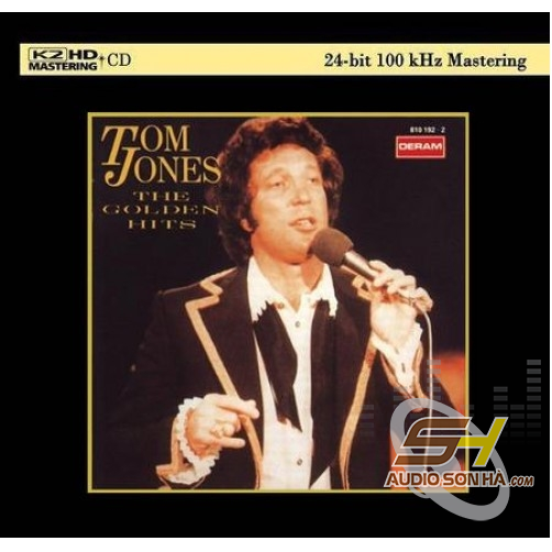 CD Tom Jones ‎, The Golden Hits