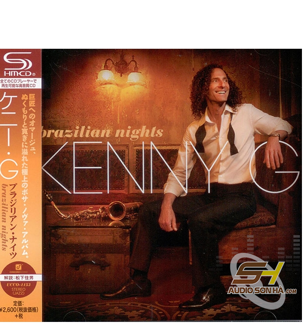 CD Kenny G, Brazilian Nights