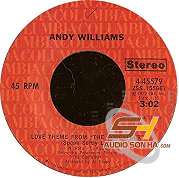 LP Andy Williams, Love Theme From The Godfather