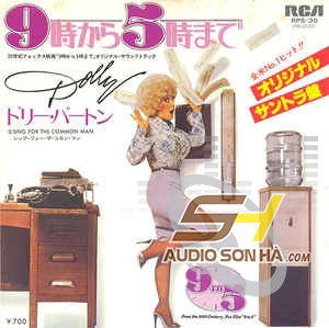 LP Dolly Parton , 9 To 5 Sing For The Common Man