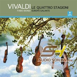 LP Vivaldi Fabio Biondi, Europa Galante, Le Quattro Stagioni