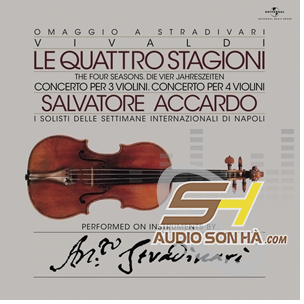 LP Salvatore Accardo The Four Seasons Le Quattro Stagioni