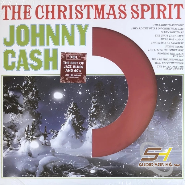 LP Johnny Cash, The Christmas Spirit