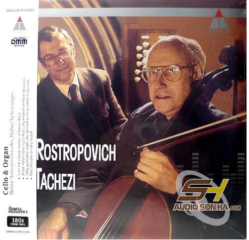 LP Rostropovich, Cello & Organ