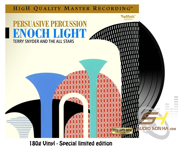 LP Enoch Light, Terry Snyder And The All Stars ‎, Percussion