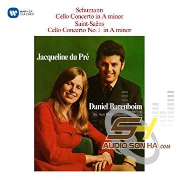 LP Schumann, Saint-Saens, Jacqueline Du Pre, Daniel Barenboim