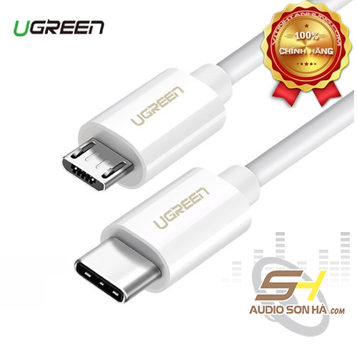 Dây USB Type-C to Micro USB 1.5m Ugreen 40419