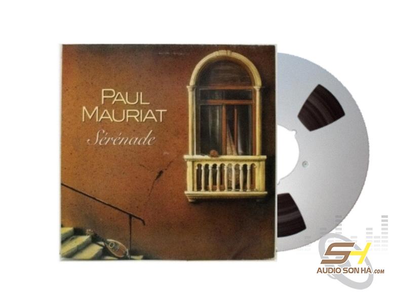 Băng Cối Paul Mauriat Serenade (2 Track, 10inch)