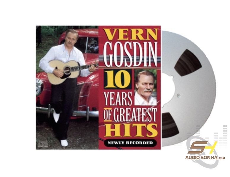 Băng Cối 10 Years Of The Greatest Hits - Vern Goldin (2 Track, 10inch)