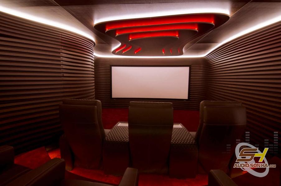 Phòng phim mẫu với tiêu tán âm Kaiser