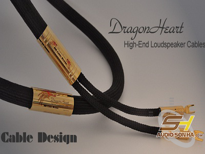 Dây loa HB Cable Design Dragon Heart/ 3m