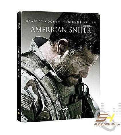 Đĩa Bluray Atmos American Sniper