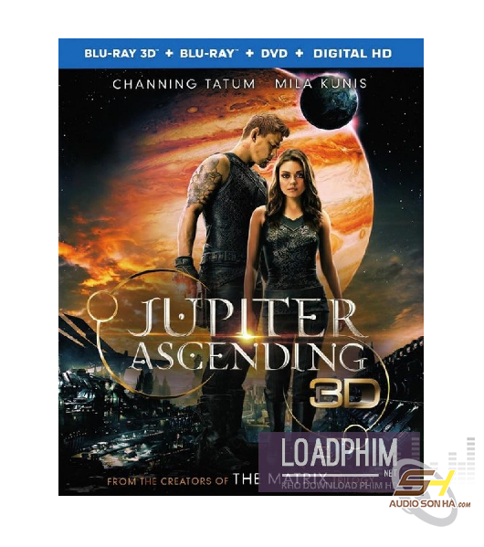 Đĩa Bluray Jupiter Ascending 3D