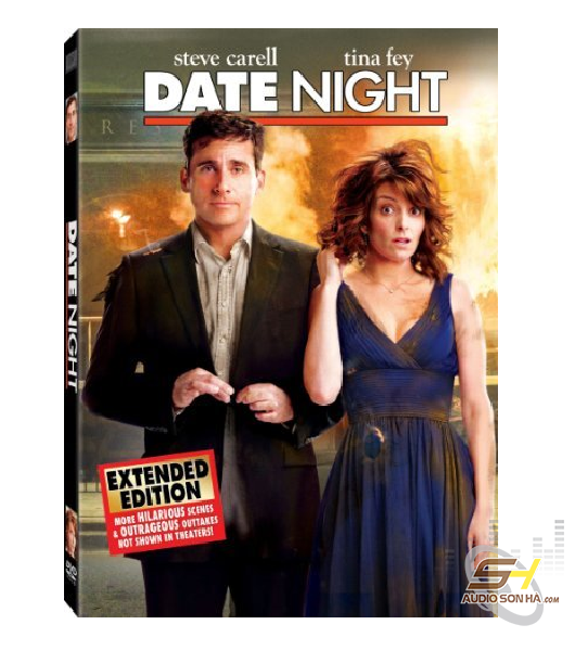 Đĩa Bluray Date Night,  Steve Carell Tina Fey