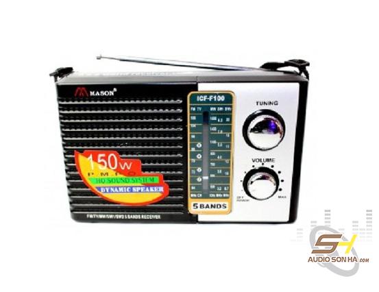 Radio Mason ICF F100
