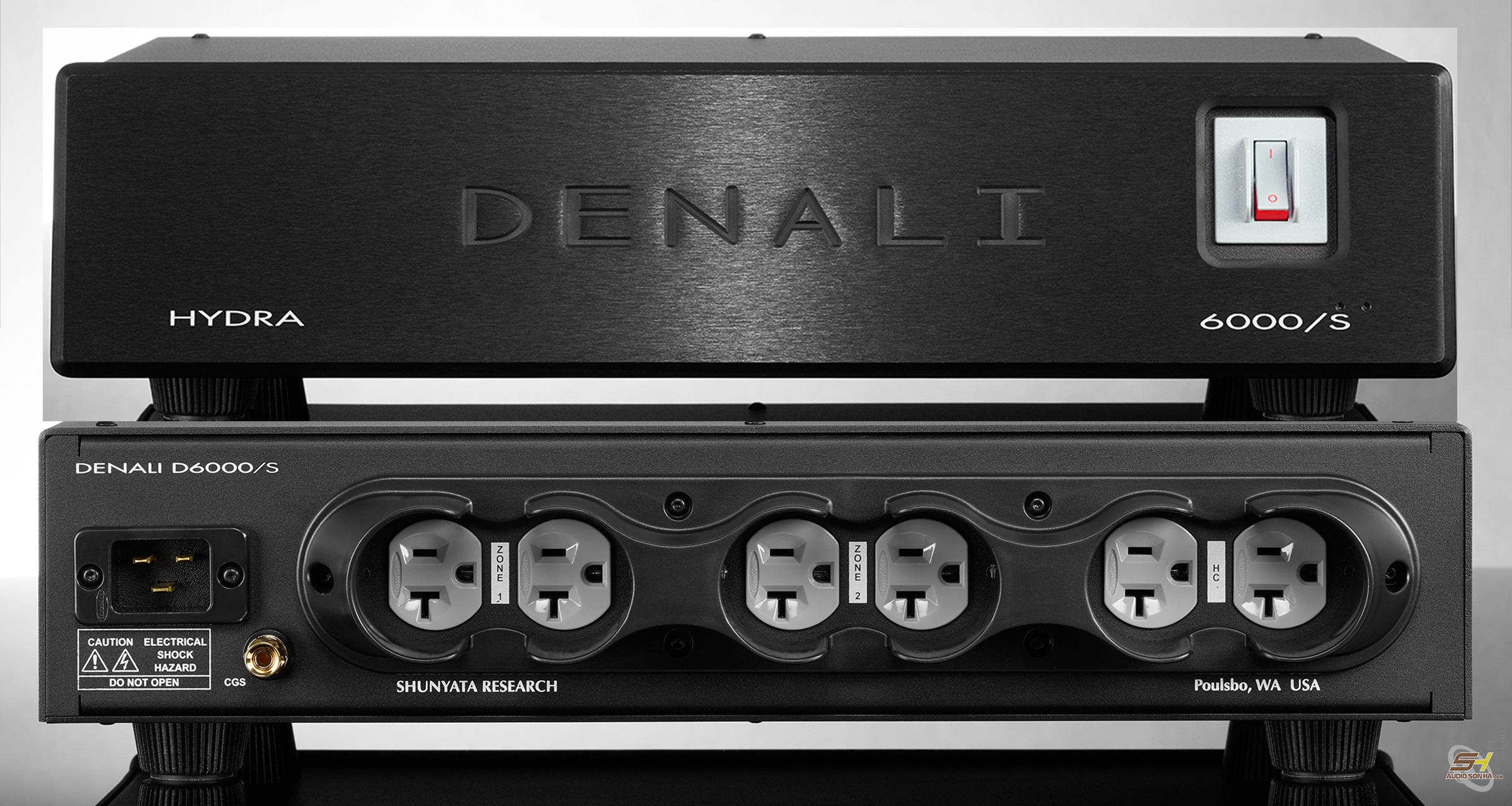 Shunyata DENALI D6000/S 240V 6 Outlets
