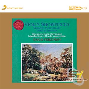 CD Violin Showpieces Erick Friedman