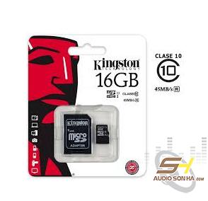 Thẻ nhớ Kingston 16GB microSD