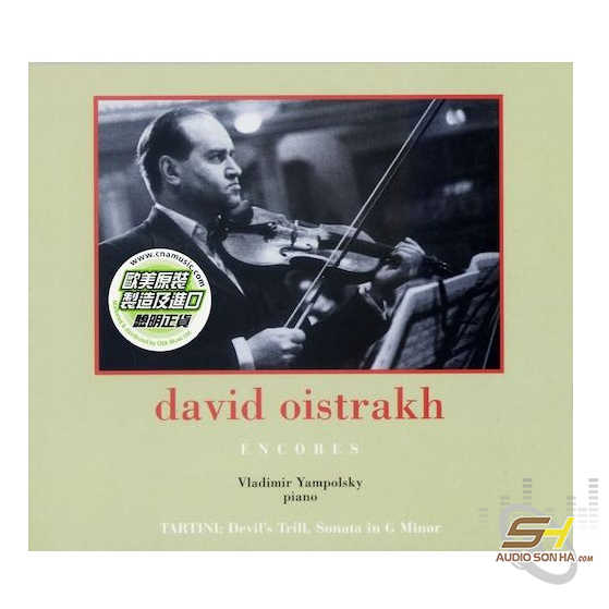 David Oistrakh Encores
