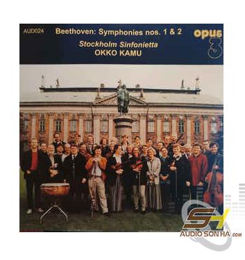 Băng Cối Stockholm Sinfonietta, Okko Kamu Beethoven Symphonies Nos 1 & 2, Opus3 Record