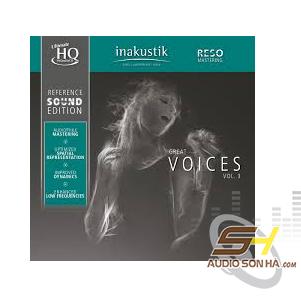 LP Inakustik, Great Voices, Vol 3