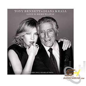 CD Tony Bennett, Diana Krall With Bill Charlap Trio, Love Is Here To Stay