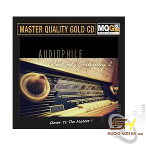 Audiophile Best of Yesterday 2, Master Quality Gold CD