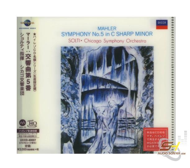 CD MAHLER Symphony 5 CSO Solti MQA UHQCD