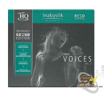 CD Great Voices Vol 3, UHQCD